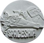 Spaceship!!! Part 3 - The Lego Movie by FireVerseCeramics