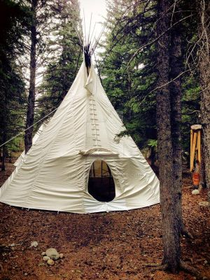 tipi livin' by Cleo101