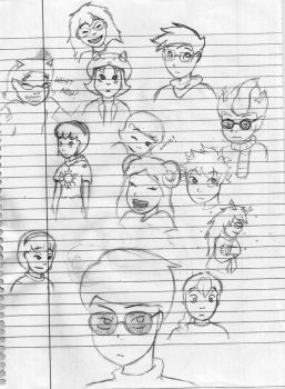 Sketch Dump by MislamicPearl
