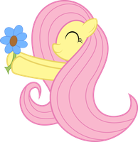 Adorable Fluttershy by MrFoxington