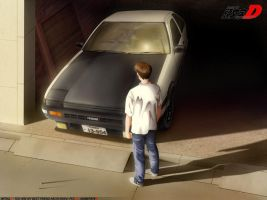 Initial D AE86 by Ice67Eleanor