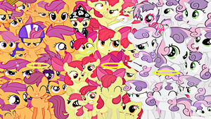 Cutie Mark Crusaders Wallpaper by Rarity6195