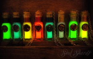 Bioshock Infinite Vigors - Glow in the Dark Vigor by MySoulShards