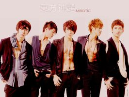 Mirotic world of DBSK w1 by hanahide