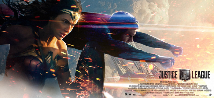 Justice League Banner by MessyPandas