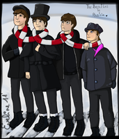 The Beatles in Austria by pampelmusel