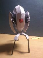 Portal Turret Papercraft by ANTIdivine