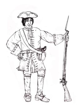 Soldier the early 18th Century by Swashbucklingartist1