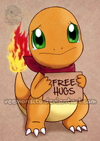 Sad Charmander by Veemonsito