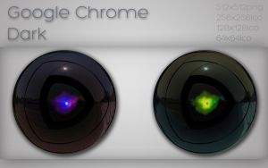 Google Chrome dark by xylomon