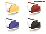 Modern folder icon set by ivprogrammer