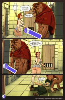 booty and the beast page 4 by razterize