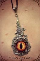 HANDMADE - Smaug Eye and Arkengemma by IWantCandyCreation