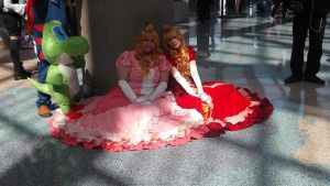 Anime Expo 2013-Princess Peach by coolpizza16
