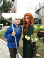 Merida and Jack Frost by LauraHatake