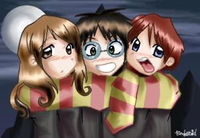 Gryffindor Bond by randerzoid