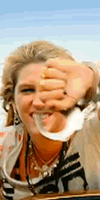 Ke$ha Cuffs Gif TALL by MegaPaperGirl