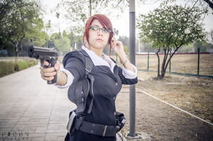 Claire Redfield RE Mercenaries 3D suit by VickyxRedfield