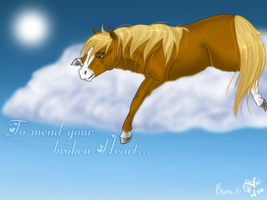 To mend your broken heart by nhinhe