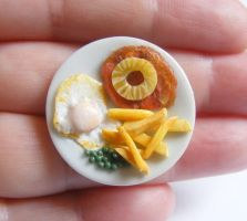gammon and pineapple ring from NeatEats by rhonda4066