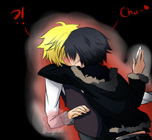 Shizaya chu by DarkyCakeDoodles