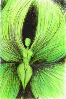 another green fairy by maxine