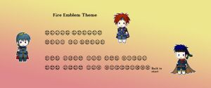 Fire Emblem theme for Ocarina by roseannepage