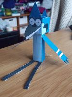 Papercraft Mordecai by MunsenTheBiscuit69