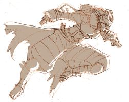 Killer bee rough by roadkillblues