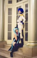 Kaito and Miku - Vocaloid Cendrillon by Feeracie
