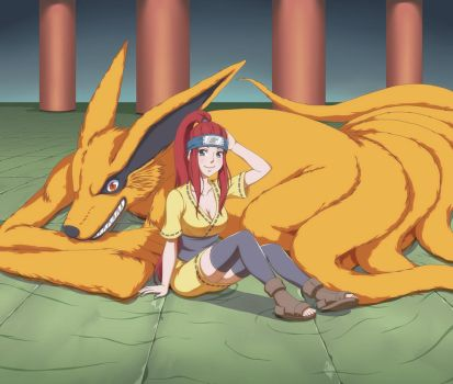 Kushina Uzumaki by cokeboy