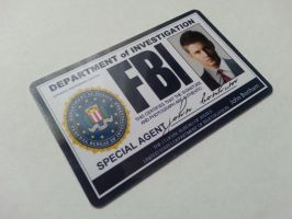 Supernatural FBI ID Card Dean Winchester by Ginissi