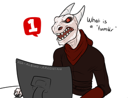 Argonian ask blog! by Shiala