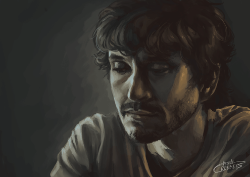 Will Graham (art improvement/draw this again) by Donsveertje