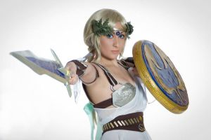 I'm ready to fight you! by AngelLiriel