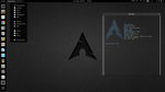 Gnome-Shell on Arch by valentin2105