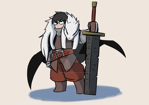 Wolf Knight by MrFendragon