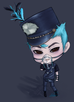 BIGBANG BLUE: TOP by The-Noodles