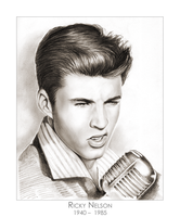 Ricky Nelson by gregchapin