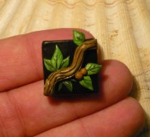 WoW Icon Herbalism - Miniature Magnet by Ganjamira