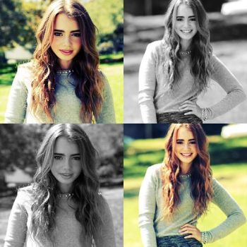 Lily Collins by kaleidoscopelav