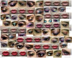 My makeup collage by Claudia-SG
