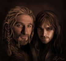 Fili and Kili by Aegileif
