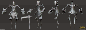 fiddlesticks fan art sculpt by daphz