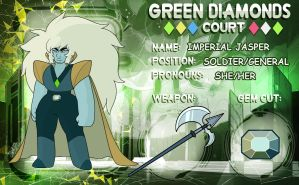 - Green Diamond's Court_Imperial Jasper - by PencilTree