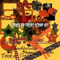 Trick or Treat scrap kit by AngelMoon17