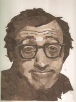 Woody Allen by semily