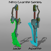 Nitro Granite Series (closed) by Nano-Core