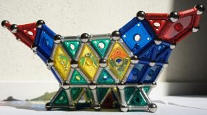 Geomag Triangle Bowl side view by longlivelol