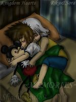 KH-Sleeping Riku-Sora-memories by Shadowgirl89